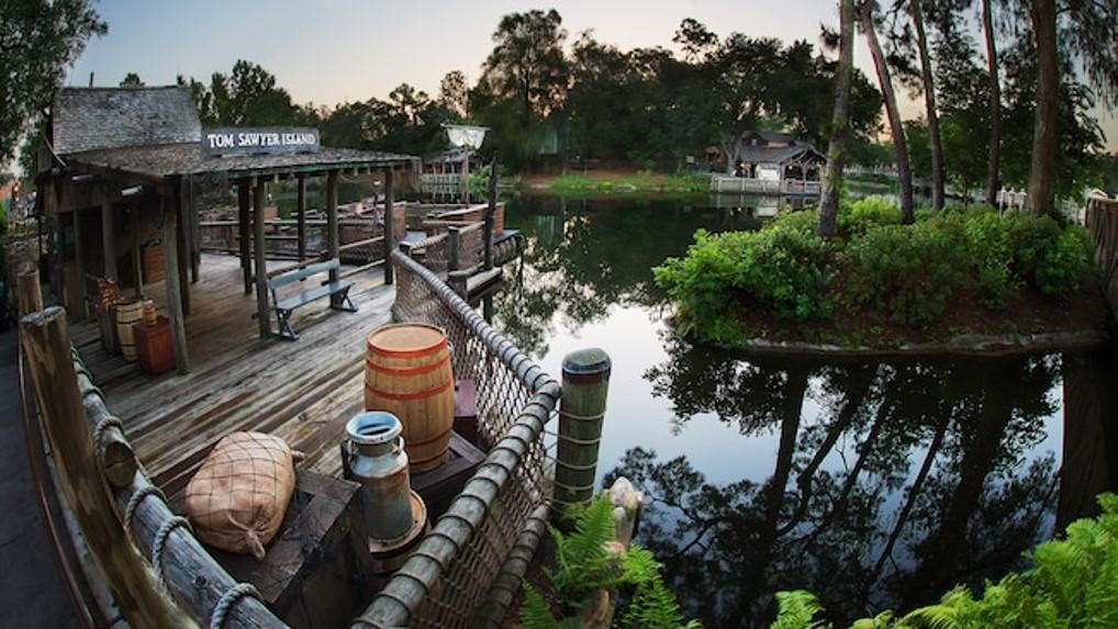 Atração: Tom Sawyer Island no Magic Kingdom - Indo Pra Orlando